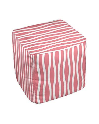 e by design Decorative Stripe Pouf