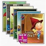 Pack of 6 Little Artist Book (Little Artist)