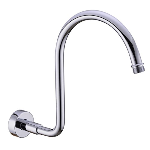 Best Prices! HANEBATH Brass GOOSENECK Extension Shower Arm and Flange , Chrome