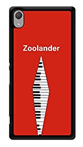 """Humor Gang Zoolander Minimal Printed Designer Mobile Back Cover For """"Sony Xperia Z3 - Sony Xperia Z3 Plus"""" (3D, Glossy, Premium Quality Snap On Case)"""
