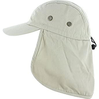 Dealstock fishing cap with ear and neck flap cover for Fishing neck cover