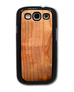 Wood Grain - Samsung Galaxy S3 Cover, Cell Phone Case - Black