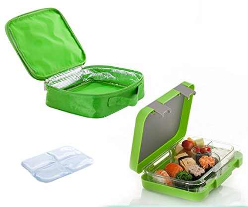the chill box bento lunch box with insulated bag and icepack. Black Bedroom Furniture Sets. Home Design Ideas
