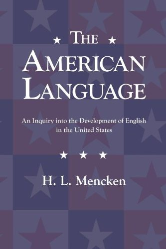 Image of The American Language