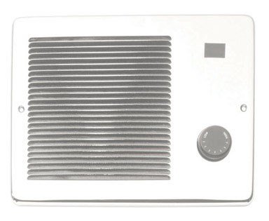 "Broan Wall Heater Convertible 7-3/4 ""X10-1/4 ""X3-3/4 "" White"