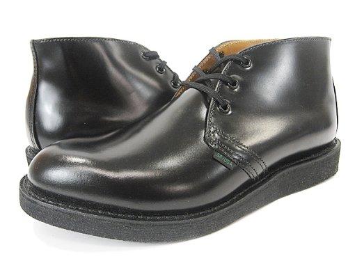 [レッドウイング]RED WING POSTMAN BOOT CHUKKA MADE IN U.S.A. ポストマン ブーツ チャッカBLACK 25.0...