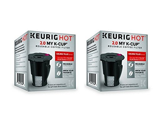 Keurig 119367 2.0 My K-Cup Reusable Coffee Filter (Updated Model) (2 PACK) (Keurig Coffee Reusable compare prices)