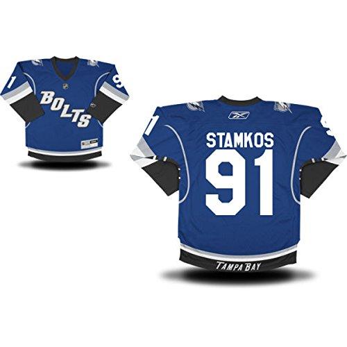 Tampa Bay Lightning Steven Stamkos Reebok Replica Alternate Youth Jersey (S/M) front-937438