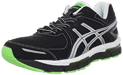 ASICS Men's GEL-Excel33 Running Shoe,Black/Lightning/Electric Apple,7 M US