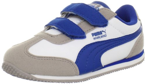 PUMA Whirlwind V Sneaker (Toddler/Little Kid/Big Kid),Opal Gray/White/Snorkel Blue,6 M US Toddler