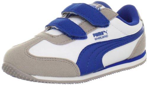 PUMA Whirlwind V Sneaker (Toddler/Little Kid/Big Kid),Opal Gray/White/Snorkel Blue,6 M US Toddler