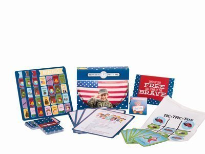 Preschooler Educational Activity Kit (Month Of July) Improves Brain Development, Themes Included We Love America, Recycle, 5 Sense, Camping- Minuteswithme