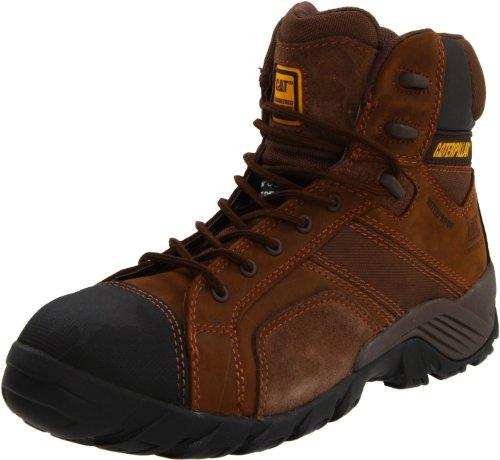 Caterpillar Men's Argon HI WP CT Hiking Boot,Dark Brown,10.5 W US