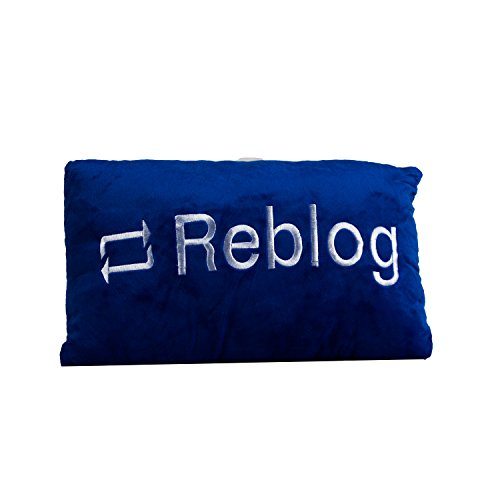 The Crazy Me Do It Again REBLOG Cushion