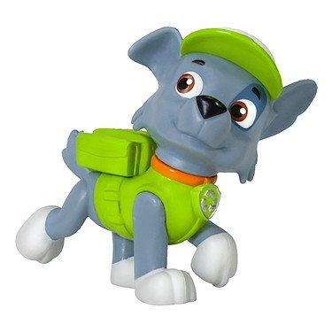 Paw Patrol - La Squadra dei Cuccioli - Pup Buddies - Rocky - Personaggio 6 cm