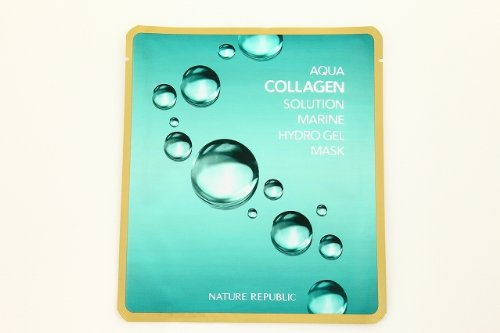 ネイチャーリパブリック NATURE REPUBLIC アクアコラーゲンソルーションマリンハイドロゲルマスク 20g