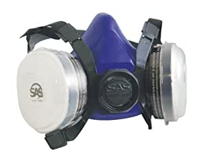 SAS Safety 8661-93 Bandit Half Mask Respirator, Large