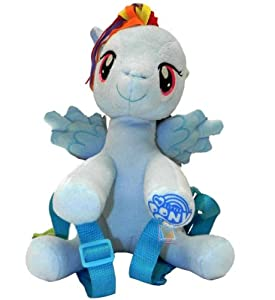 My Little Pony Rainbow Dash Plush Backpack from FAB