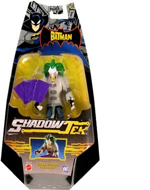 Buy The Batman Shadow Tek Action Figure Joker [Card Attack]