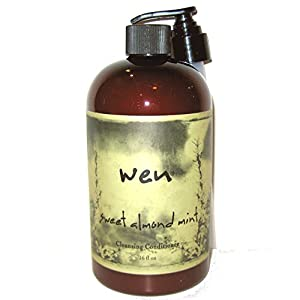 WEN Cleansing Conditioner, Sweet Almond Mint, 16 Ounce