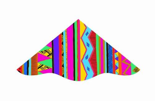 Dlx Delta 42-inches Nylon Delux Delta Kite:Mojo
