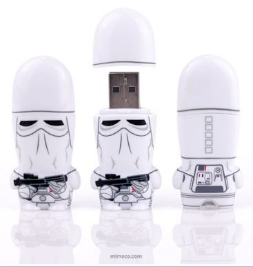 Star Wars Snowtrooper 2GB MIMOBOT USB by MIMOCO
