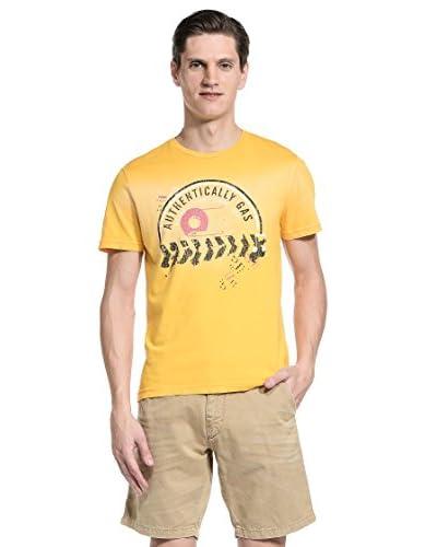 Gas T-Shirt Scuba/S [Giallo]