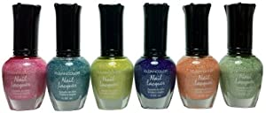 Kleancolor Nail Lacquers 6 Color - *NEW* Starry Spring Collection