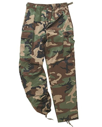 Mil-Tec Men's Us Army Ranger Trousers Work Combat Military Casual Pants XX-Large Woodland (Ranger Combat Pants compare prices)