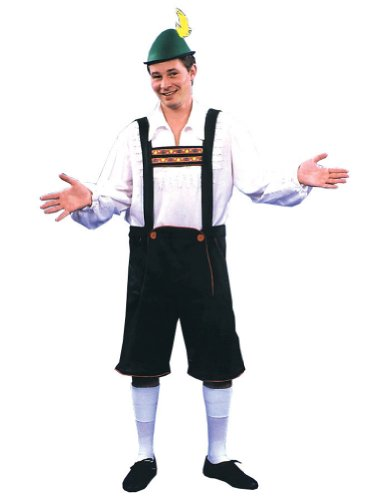 Lederhosen Md Adult Mens Costume