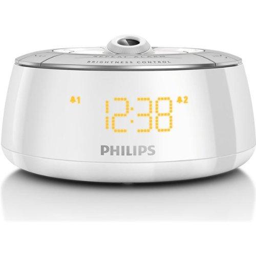 Philips aj5030 12 radio r veil avec projecteur 180 blanc radio radio r veil - Reveil avec projecteur plafond ...