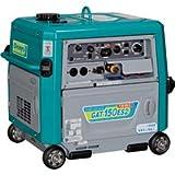 Denyo (デンヨー) エンジンTIG溶接機 GAT-150ES2 超低騒音型