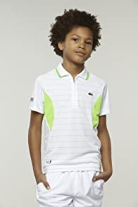 Boy's Super Dry Stripe Polo