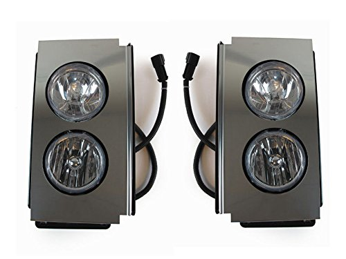 CPW (tm) 2006-2010 Volvo VT Series Commercial Truck OE Replacement Fog Light Set 880 (Volvo Semi Fog Lights compare prices)