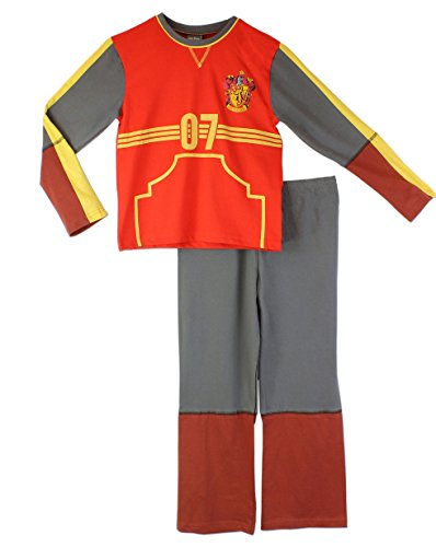 Character Boys' Harry Potter Pajamas Quidditch Outfit