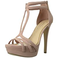 Jessica Simpson Women's Salvati Platform Sandal,Miss Piggy,6 M US