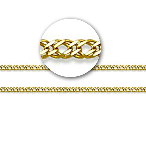 LIOR - 18ct Yellow Gold Chain -20cm -1.7gr