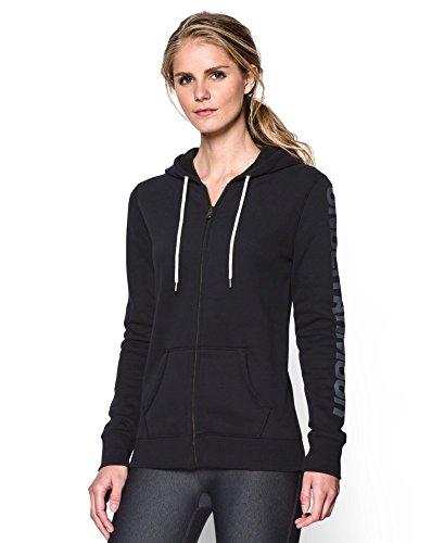 Under Armour Women's UA Storm Rival Cotton Full Zip Hoodie X-Large Black
