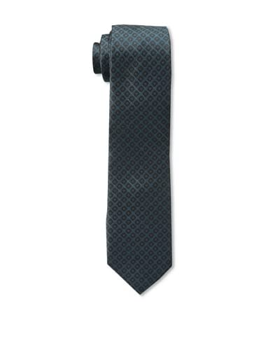 Gitman Men's Pattern Tie, Dark Green