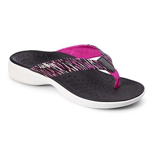 Vionic Serene Kapel - Womens Active Sandal Black - 7