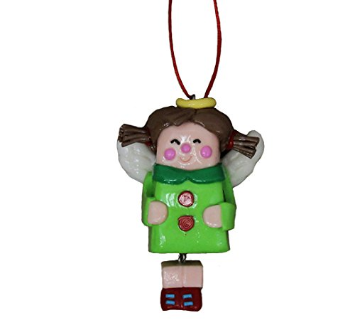 St. Nicholas Square Toyland Angel Ornament