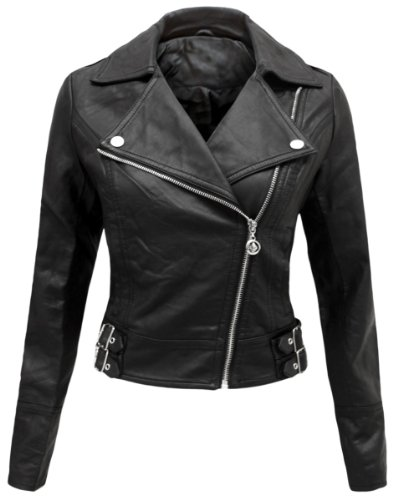 ENVY BOUTIQUE NEW LADIES WOMENS PVC FAUX LEATHER