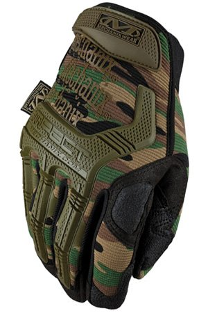 Mechanix Wear M-Pact MPT-71 Green 11 Synthetic Leather/Trekdry Mechanic's Gloves - Thermoplastic Elastomer Fingers & Knuckles Coating - MPT-71-011 [PRICE is per PAIR]