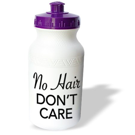 Wb_163819_1 Evadane - Quotes - No Hair Dont Care. Fight Cancer. Cancer Survivor. - Water Bottles