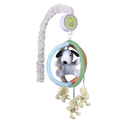 Lambs & Ivy Bff Musical Mobile, Snoopy front-934723