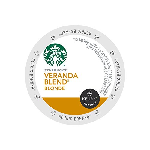 Starbucks K-cups for Keurig Brewers Veranda Blend Blonde, Case of 96 (K Cups Starbucks Blonde compare prices)