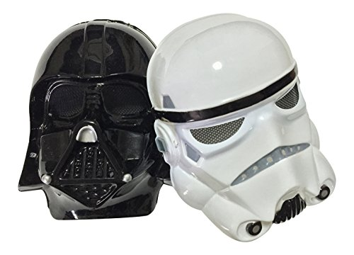 Star Wars Darth Vader and Stormtrooper PVC Masks Bundle by P46 Digital (Stormtrooper Mask)