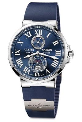 Ulysse Nardin Marine Chronometer 43mm Men's Automatic COSC Watch - 263-67-3/43