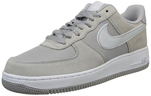 Nike Air Force 1, Scarpe sportive, Uomo, Grigio (Grau (Wolf Grey/Pure Platinum-White)), 42