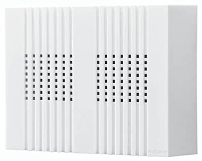 NuTone LA126WH Decorative Wired Two-Note Door Chime, Compact Classic Design, White Finish